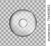 3d grey round human cell...   Shutterstock .eps vector #756403852