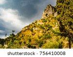 amalfi coast landscape | Shutterstock . vector #756410008