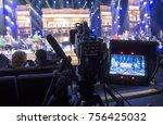 professional digital video... | Shutterstock . vector #756425032