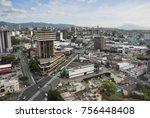 guatemala city   january 04 ...   Shutterstock . vector #756448408