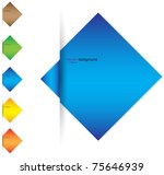 sheet vector background   Shutterstock .eps vector #75646939