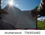 close up of unknown adult... | Shutterstock . vector #756501682