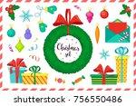 big christmas set of clipart....