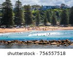 avoca beach  central coast ... | Shutterstock . vector #756557518