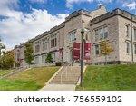 bloomington  in usa   october... | Shutterstock . vector #756559102