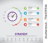 time for success  template...   Shutterstock .eps vector #756559546