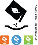 seed packet icon | Shutterstock .eps vector #756572992
