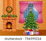 vector illustration of... | Shutterstock .eps vector #756595216