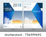 covers design with space for... | Shutterstock .eps vector #756599692
