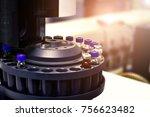 laboratory analyzer for... | Shutterstock . vector #756623482