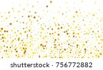 many random falling stars... | Shutterstock .eps vector #756772882