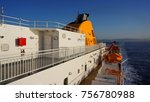 photo from cruising ship in the ... | Shutterstock . vector #756780988