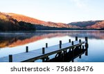 ullswater jetty reflections