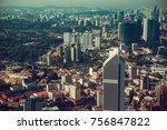 modern architecture  business... | Shutterstock . vector #756847822