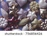 winter holidays decor background | Shutterstock . vector #756856426