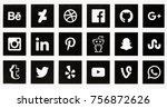 berlin  november 14  2017   set ...   Shutterstock . vector #756872626