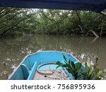 boat transportation heading to... | Shutterstock . vector #756895936