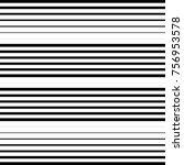 striped seamless pattern.... | Shutterstock .eps vector #756953578