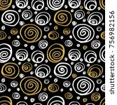 seamless patterns sketch styles ... | Shutterstock .eps vector #756982156