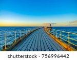 Whitby Pier Sunset