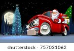 vector christmas card.... | Shutterstock .eps vector #757031062
