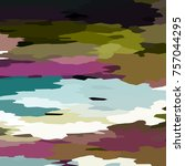 camouflage background with... | Shutterstock . vector #757044295