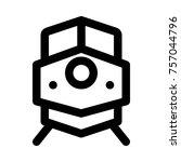locomotive   rail transport | Shutterstock .eps vector #757044796