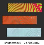 minimal banner templates with... | Shutterstock .eps vector #757063882