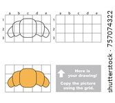 copy the horizontal picture... | Shutterstock .eps vector #757074322