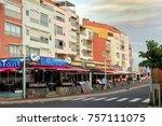 cap d'agde  herault  france  ... | Shutterstock . vector #757111075