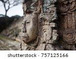 king zots choj muan  mayan... | Shutterstock . vector #757125166