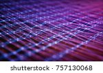 3d illustration. abstract image ... | Shutterstock . vector #757130068