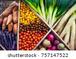 Top View Assortment Of Fresh...