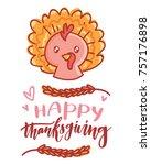 hand drawn illustration for...   Shutterstock .eps vector #757176898