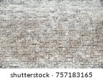 old red brick wall background... | Shutterstock . vector #757183165