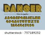 decorative vector vintage retro ... | Shutterstock .eps vector #757189252