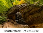 zion national park  utah | Shutterstock . vector #757213342