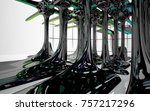 abstract dynamic interior with...   Shutterstock . vector #757217296