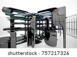 abstract dynamic interior with...   Shutterstock . vector #757217326