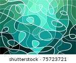 abstract geometric mosaic... | Shutterstock .eps vector #75723721