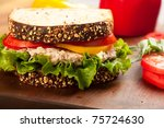 Tuna Fish Sandwich On...