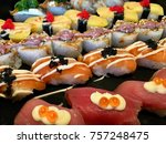 sushi stock images | Shutterstock . vector #757248475