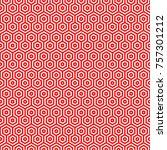 seamless hexagonal pattern   Shutterstock .eps vector #757301212