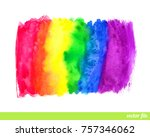 abstract painting background.... | Shutterstock .eps vector #757346062