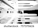 abstract dynamic interior with... | Shutterstock . vector #757370626