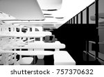 abstract dynamic interior with... | Shutterstock . vector #757370632
