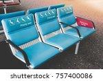 priority seats in international ...   Shutterstock . vector #757400086