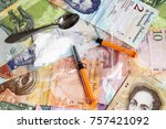 drug addictional   narcotic | Shutterstock . vector #757421092
