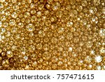bright background with bubbles... | Shutterstock . vector #757471615