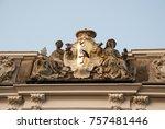 hague  holland  netherlands.... | Shutterstock . vector #757481446